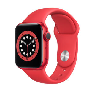 Apple Watch Series 6 GPS 40mm RedAluminium Case with (Product) Red Sport Band